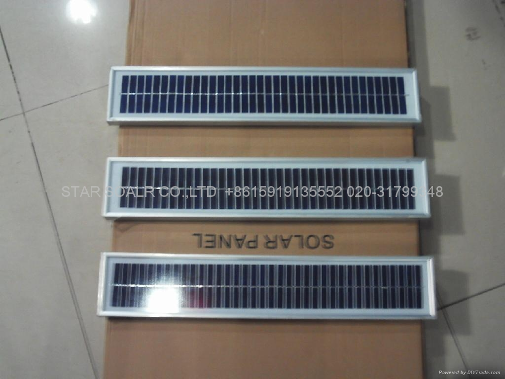Solar panel 5W/18V(the panel use for solar power system )