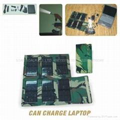 Portable Solar laptop charging systems (folding)