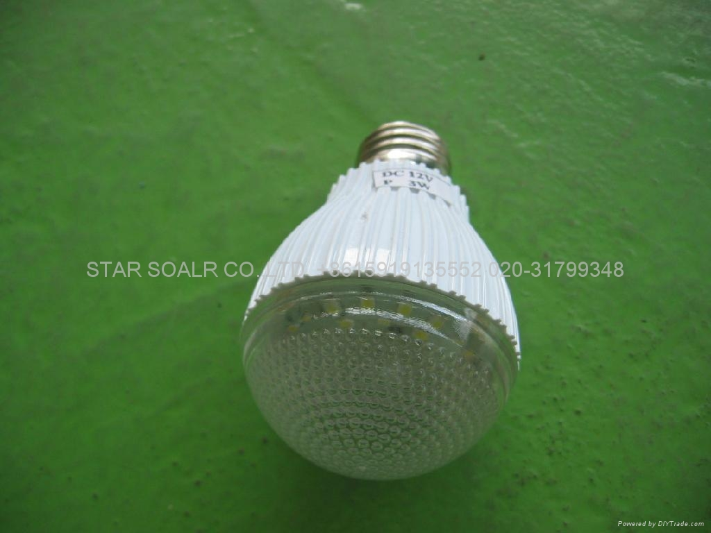 led  lamp / solar energy saving bulb light 3