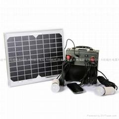 太陽能移動電源系統 10w