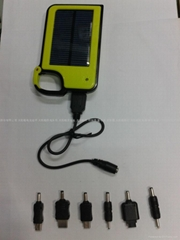 solar mobile phone charger laptop charge
