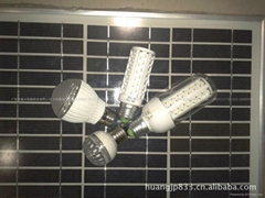 solar lamp and solar led bulb