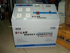 solar power system 500w-AC /solar portable generator