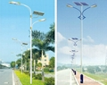 solar street lamp and garde light 30w