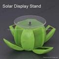 solar display stand