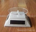 solar display stand/ solar charger