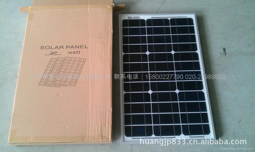 太陽能電池組件60W 3