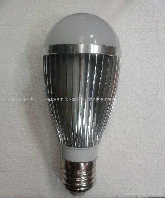 solar LED lamp 7W /solar energy saving led bulb light 1