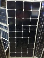 SUN POWER太阳能电池板/太阳能单晶硅电池板130W