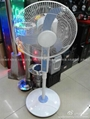 solar fan with LED lamp /solar fan