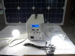 small solar system /portable solar system 25w