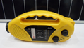 Solar dynamo radio with flashlight and phone charger 2
