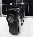 Solar dynamo radio with flashlight and phone charger 5