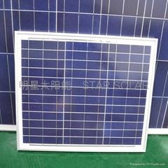 30W 多晶太陽板 光伏太陽能板 家用太陽能板