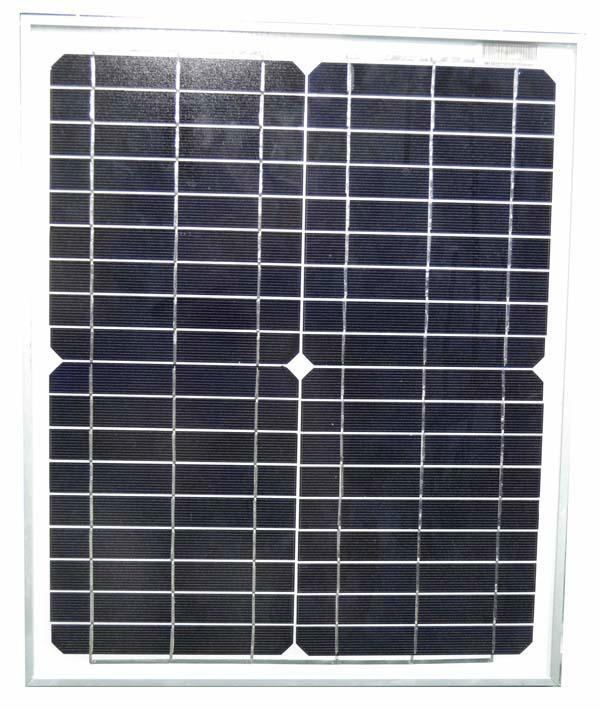 mono solar panels 20W 1