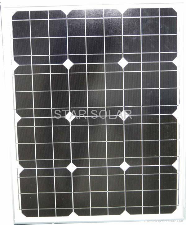 太阳能电池组件50W 1