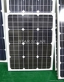太陽能電池組件50W 2