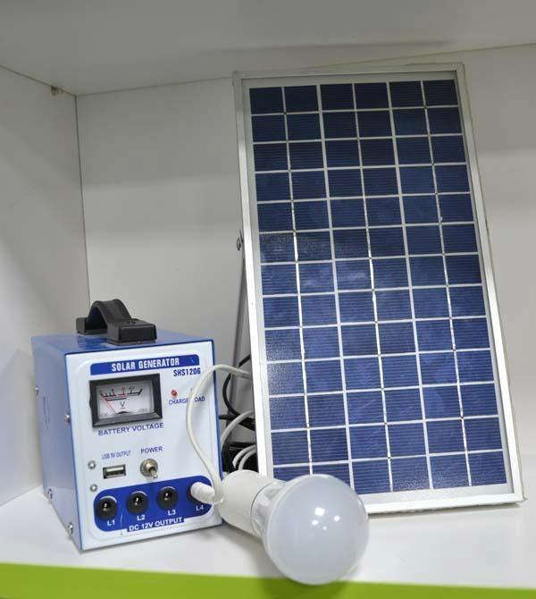portable solar system / solar generator 6W /5w/10w /15w/20w/30w/ 40w/50w 1