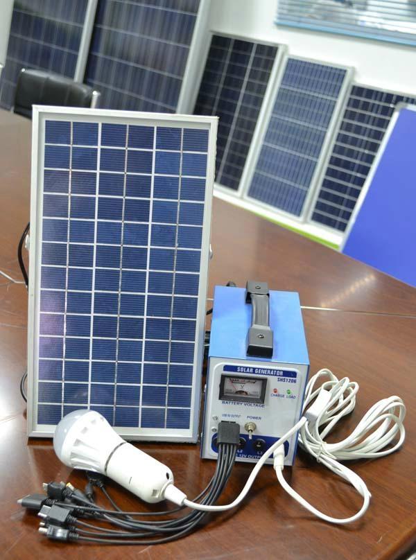 portable solar system / solar generator 6W /5w/10w /15w/20w/30w/ 40w/50w 5