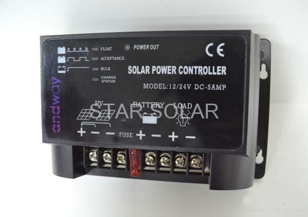 太陽能智能控制器 3