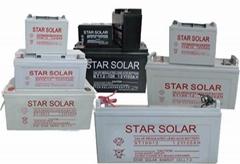 太阳能蓄电池12V 12A 24A 45A 75A 100A 150A 200A
