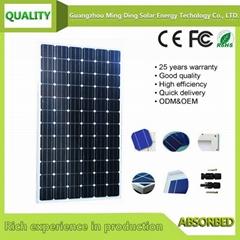單晶太陽能組件 300W