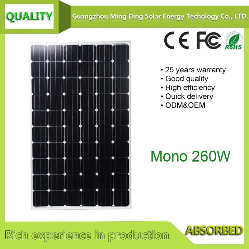 solar panels 260W 1
