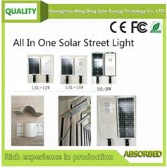 12瓦太阳能一体化路灯