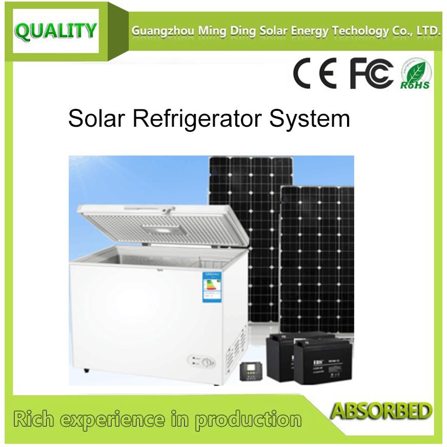 100L太阳能直流冰柜系统 1
