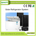 100L太阳能直流冰柜系统