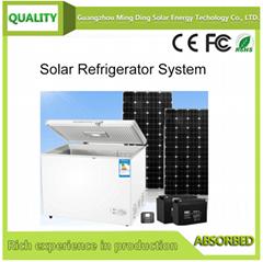 128L 太阳能直流冰柜系统