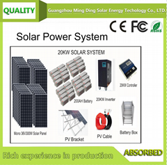 On Grid/ Off Grid Rooftop Solar Power System 10KW