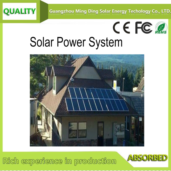 On/Off Grid Solar Power System SP-500KW 3