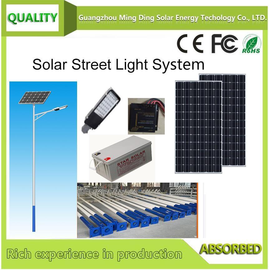 30W Solar Street Light System 1