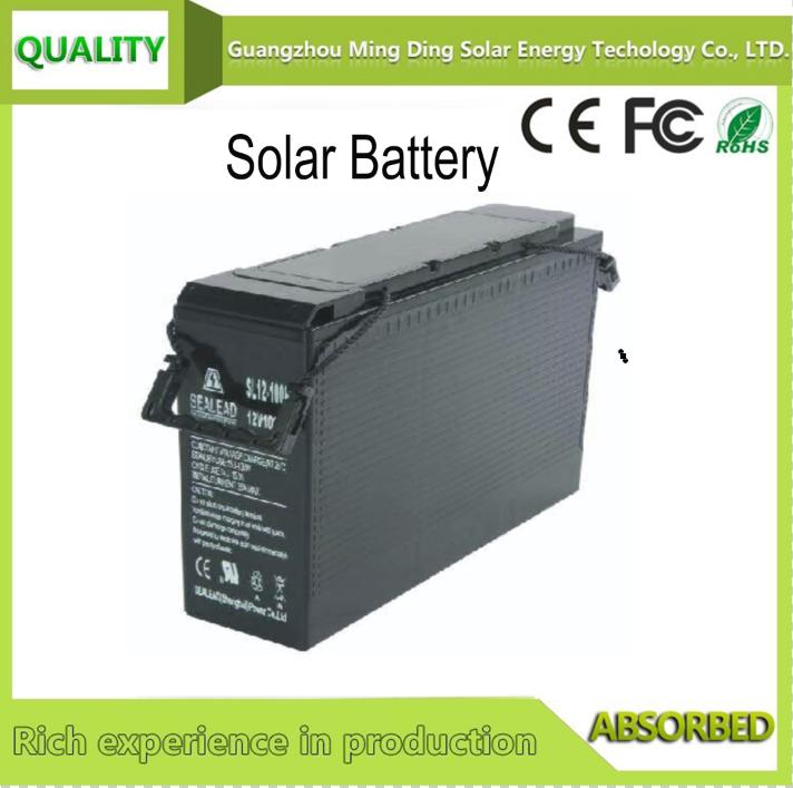 太陽能蓄電池 12V 100AH   1