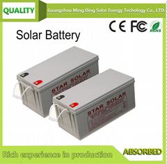 太陽能蓄電池 12V 100AH