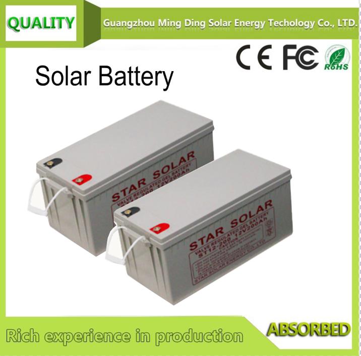 太陽能蓄電池12V 120AH 1