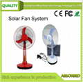 Solar Fan With Panel/ Solar Fan With Light /Solar Rechargeable Fan