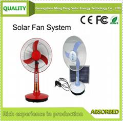 太阳能风扇 配太阳能板,太阳照明风扇,太阳能直流风扇 SF-05 矮