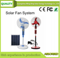 Solar Fan WithPanel / Solar Rechargeable Fan/ Solar Fan With Light