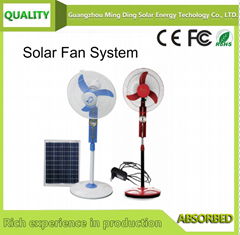 Solar Fan Without Panel/Solar Fan With Lighting System / Solar Rechargeable Fan