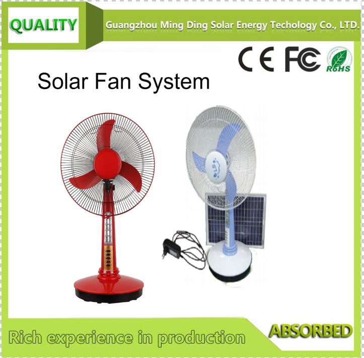Solar Fan Without Panel /Solar Fan With Light LED Lamp /Solar Fan 1