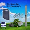 太阳能直流不锈钢深井潜水泵 农业灌溉系统