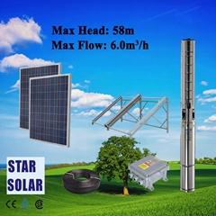 太阳能螺杆泵 不锈钢深井潜水泵
