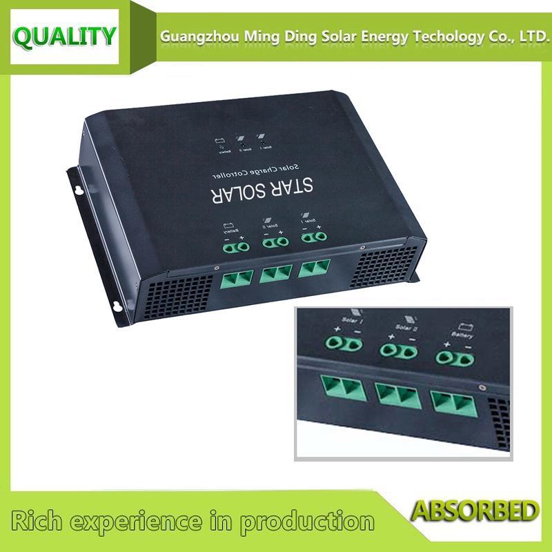 48V 80A PWM 高效率太阳能光伏控制器 2