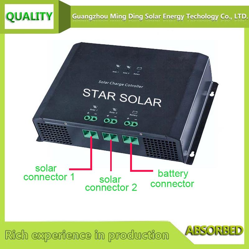 48V 80A PWM solar charger controller for solar energy system 3