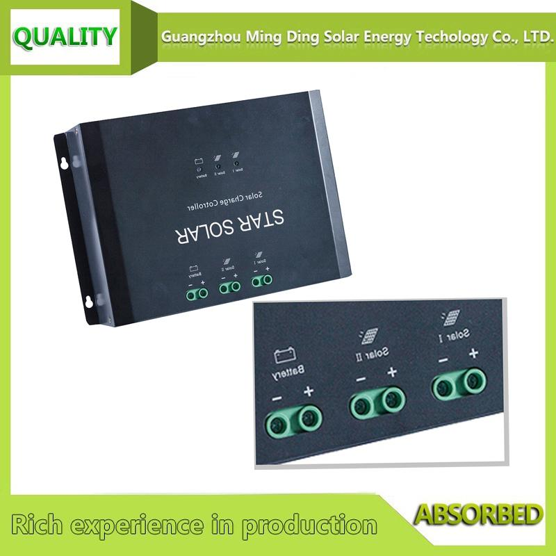 Voltage stabilizer 80A solar charge controller for solar with LED display 2