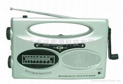 太阳能收音机