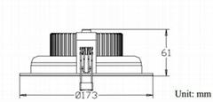 6-Inch LED Downlight