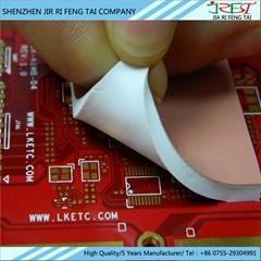 LED等電子元件絕緣軟性硅膠墊片 散熱硅膠片 導熱片